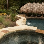 Residential Outdoor Spa