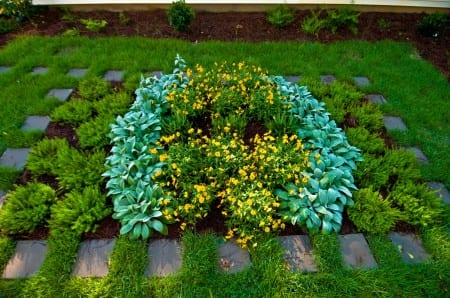 Georgias Moderate Residential Flower Garden Ideas