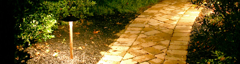 landscape lighting path lighting