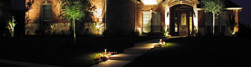 landscape lighting up lights